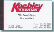 Koebly Towing